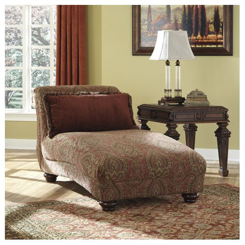 Signature design by ashley pelham chaise lounge reviews for Ashley furniture chaise lounges