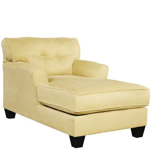 Signature design by ashley sanford chaise lounge amp reviews wayfair