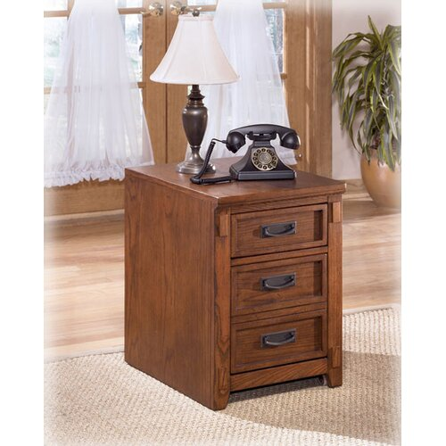 Signature Design by Ashley Cross Island 2-Drawer Mobile File Cabinet