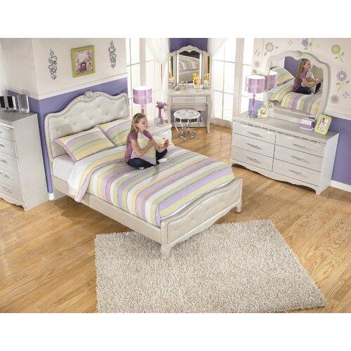 Signature Design By Ashley Zarollina Kids Upholstered Bed