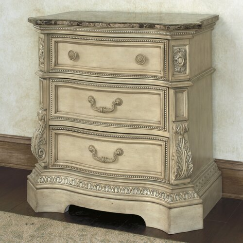 Ortanique 3 Drawer Nightstand