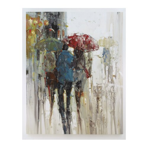 Painting Print Wrapped Canvas