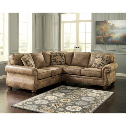 Signature Design By Ashley Larkinhurst Small Scale Sectional Reviews Wayfair