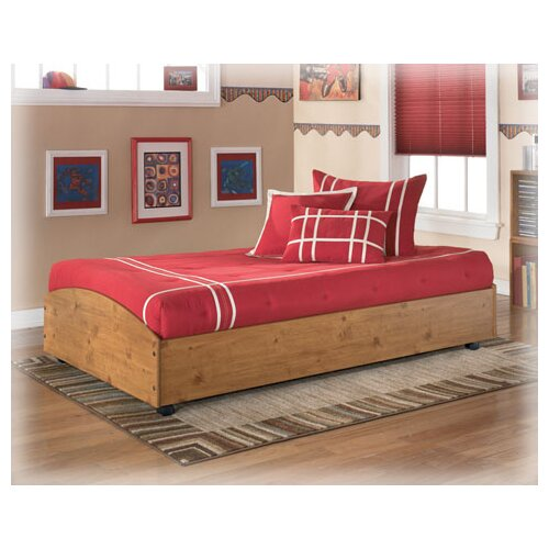 Home Loft Concept Twin Roll Out Trundle Bed Frame