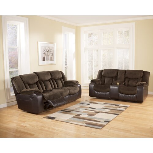 Signature Design by Ashley Bay Double Reclining Loveseat