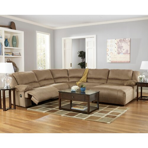 Signature Design by Ashley Rudy Reclining Sectional