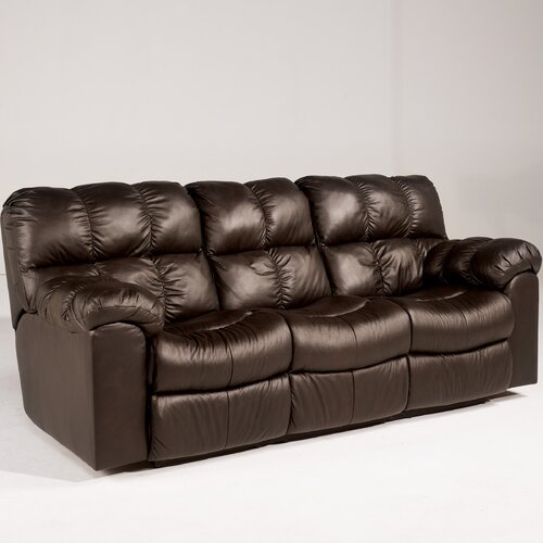 Valley Leather Sleeper Sofa