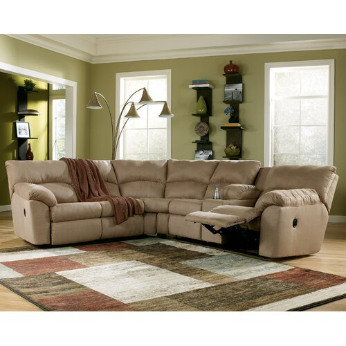Signature Design By Ashley Southfield Reclining Sectional