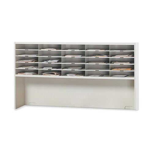 Mayline Group Mailroom 1-Tier 25 Pocket Sorter