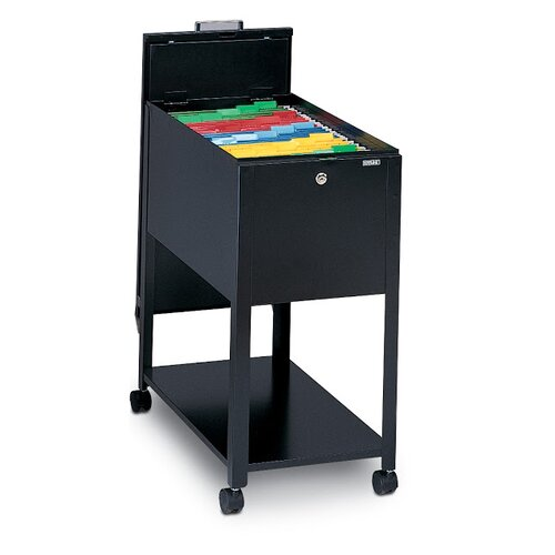 Mayline Group 1-Drawer Mobile Letter Size File