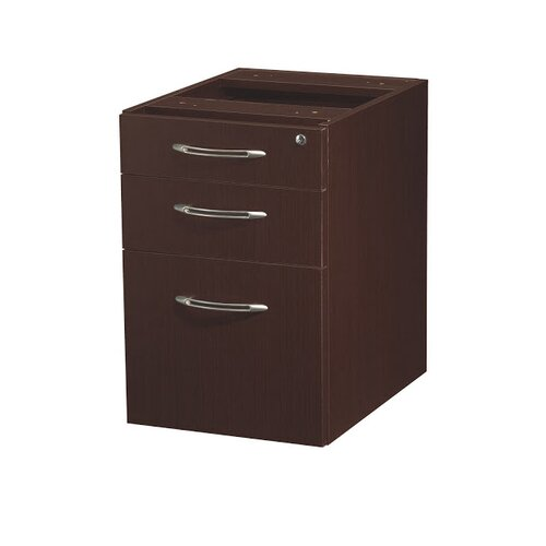 Mayline Group Aberdeen Series 3-Drawer Moblie Pedestals
