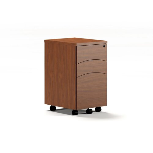 Mayline Group Brighton Series Mobile Box Box File Peddestal