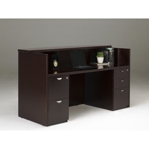 Mayline Group Mira Series Reception Desk Station