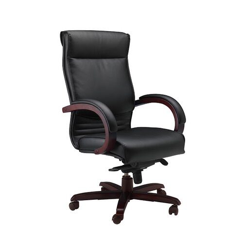 Mayline Group High-Back Leather Corsica Chair