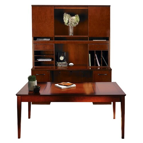 Mayline Group Sorrento Series Standard Desk Office Suite