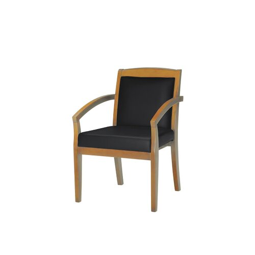 Mayline Group Corsica Two Wood Guest Chair