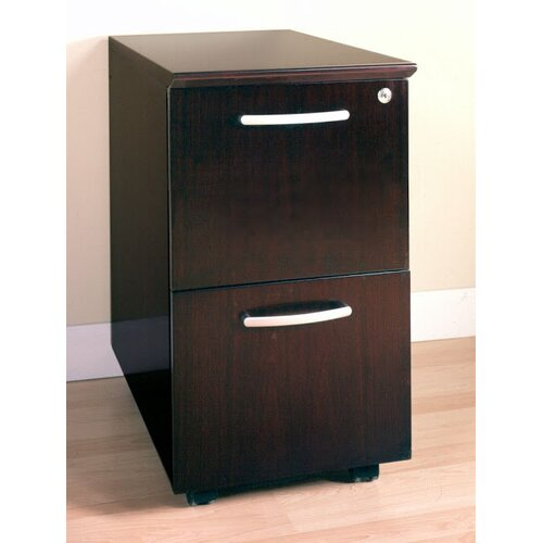 Mayline Group Corsica Series Mobile 2-Drawer Pedestal