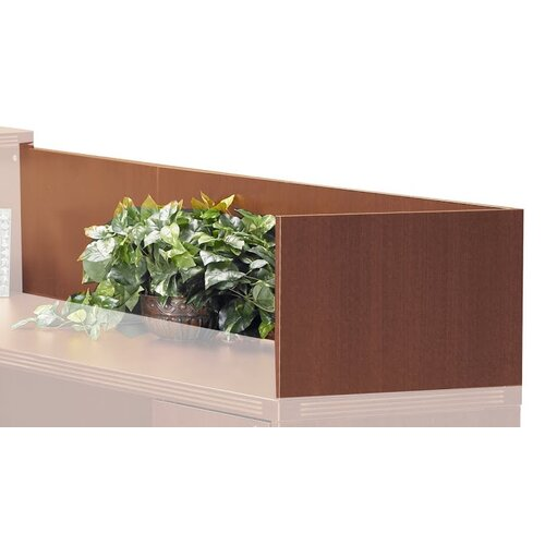 "Mayline Group Aberdeen Series 14"" H x 48"" W Reception Desk Return"