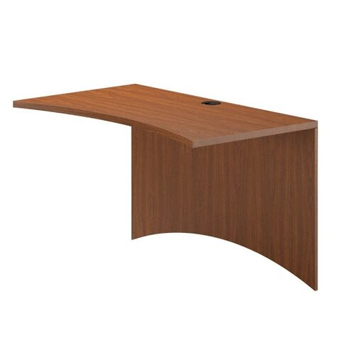 "Mayline Group Brighton Series 29"" H x 42"" W Desk Curved Bridge"