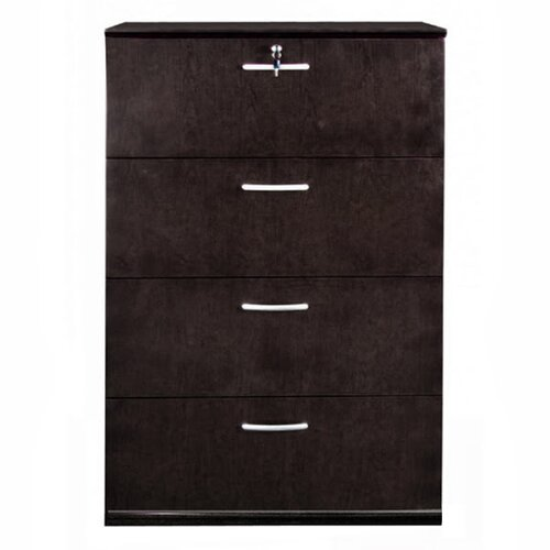 Mayline Group Sorrento Series 4-Drawer Lateral File