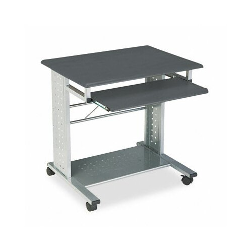 "Mayline Group Empire Mobile PC Station 29.75"" W x 23.5"" D Computer Table"