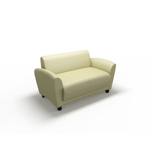 Mayline Group Santa Cruz Leather Lounge Settee