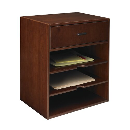 "Mayline Group Sorrento Series 19.75"" H x 17.5"" W Desk Hutch"