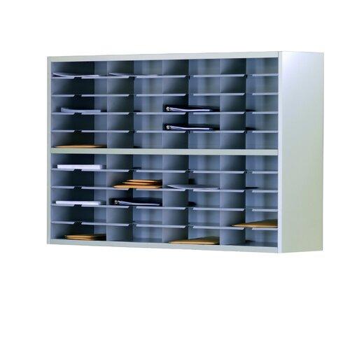 Mayline Group Mailroom 2-Tier 40 Pocket Sorter