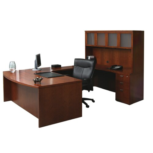 Mayline Group Mira Series U-Shape Executive Desk