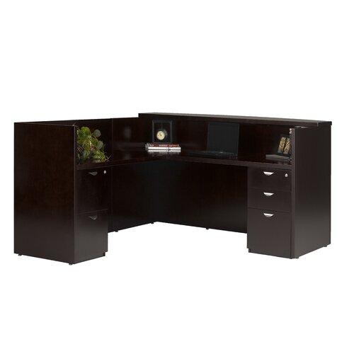 Mayline Group Mira Series Reception Desk Station