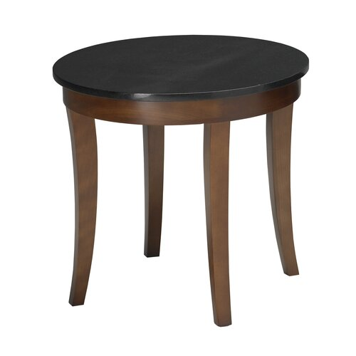 Mayline Group Midnight Series End Table