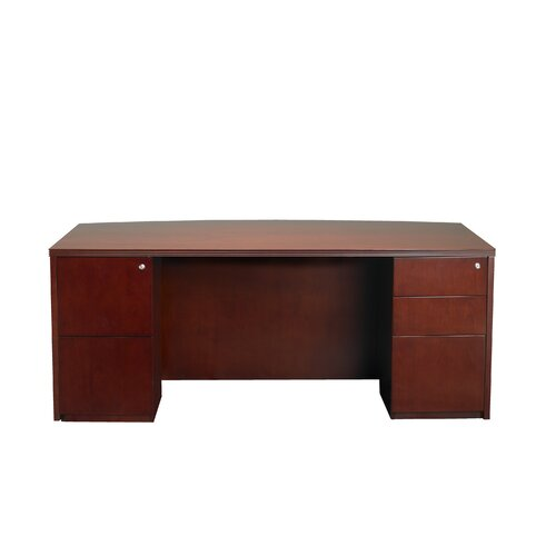 Mayline Group Luminary Series Executive Desk Typical #3