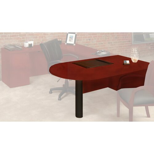 Mayline Group Luminary Series Desk Peninsula