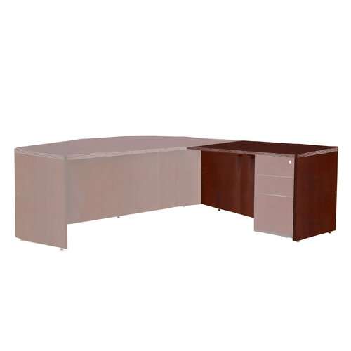 "Mayline Group Luminary Series 29"" H x 48"" W Desk Return"