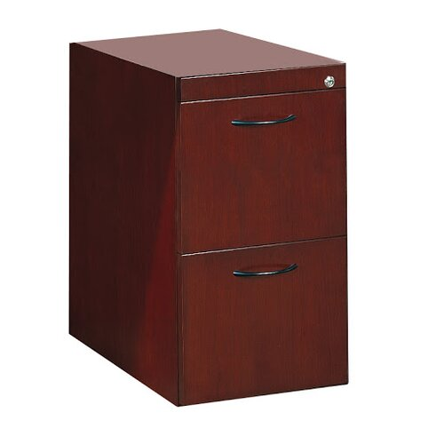Mayline Group Corsica Series 2-Drawer Pedestal File for Credenza / Return File-File