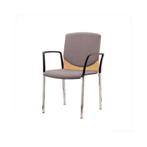 Source Seating Zag Four Leather Guest Side Chair Back Pad