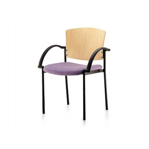Source Seating Convex Staxx Stacking Chair (Finished Wood)