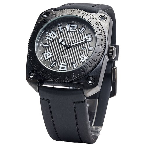 Flight Deck Men's Round Face Watch