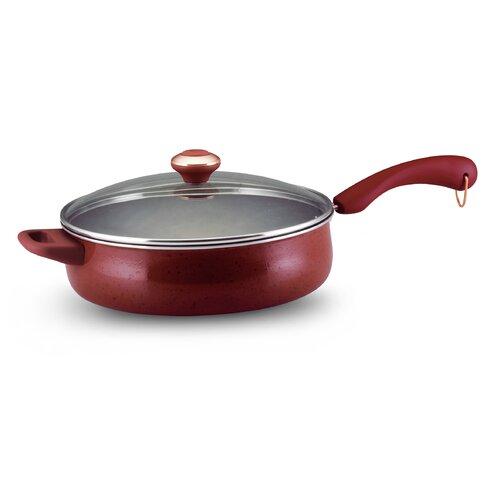 Paula Deen Porcelain Enamel 5-qt. Saute Pan with Lid