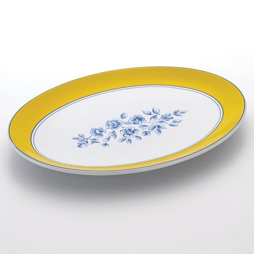 "Paula Deen Signature Spring Prelude 14"" Oval Platter"