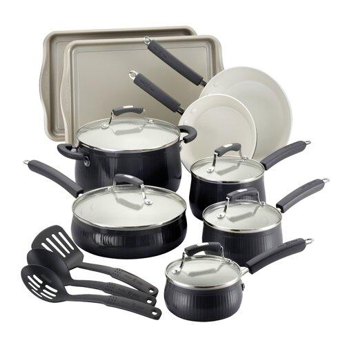 Savannah 17-Piece Cookware Set with Bakeware