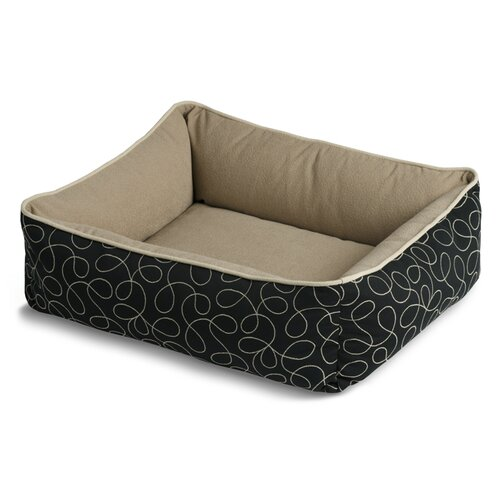 Bumper Style Loopy Donut Dog Bed