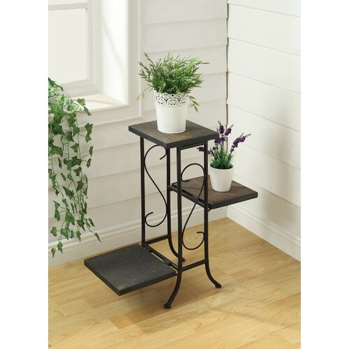 4D Concepts 3 Tier Square Planter Stand