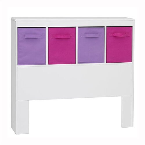 4D Concepts Girl's Twin Bookcase Headboard