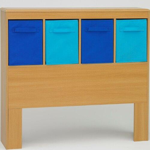 4D Concepts Boy's Twin Bookcase Headboard