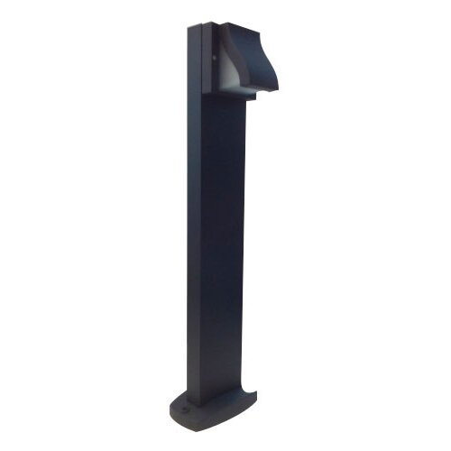 Fiorentino Lighting Lavay Bollard in Black