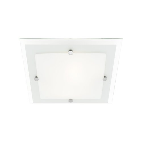 Cougar Lighting Essex 3 Light 43cm Square Ceiling Oyster