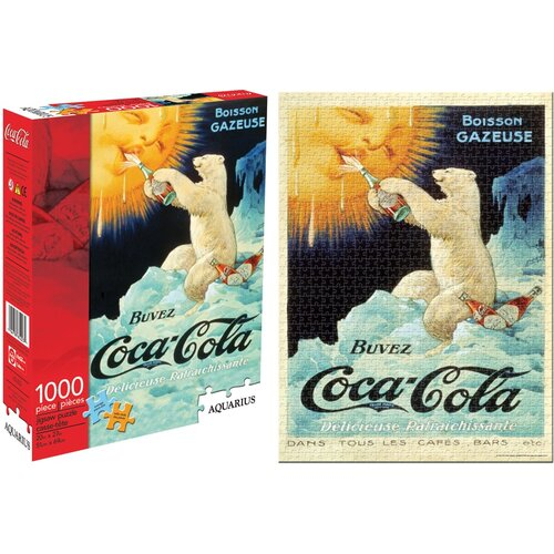 NMR Distribution Coca Cola Bear 1000 Piece Jigsaw Puzzle