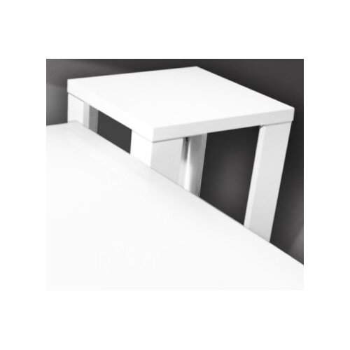 By Designs Yumi Side Table in High Gloss White