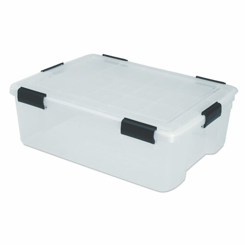 Ultimate Clear Box Storage (Set of 4)